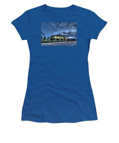 Dallas Cowboys Stadium Women's T-Shirt (Athletic Fit)