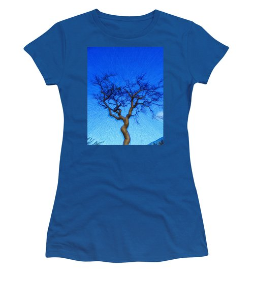 Dance Of The Dawn Women's T-Shirt (Junior Cut) by Anne Mott