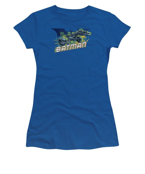 Dark Knight Rises - Wheels On Fire Women's T-Shirt (Athletic Fit)