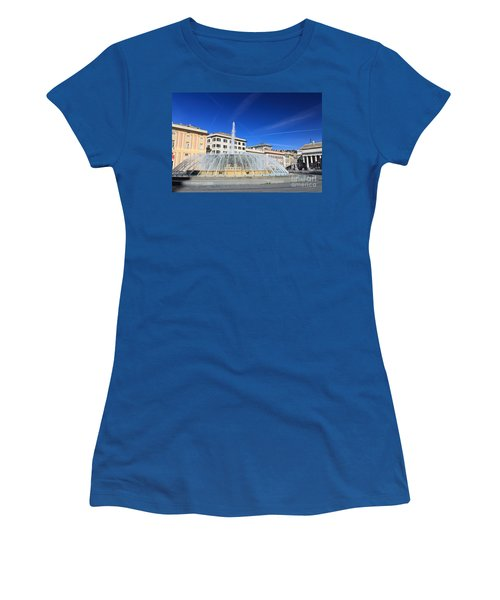 De Ferrari Square - Genova Women's T-Shirt (Athletic Fit)