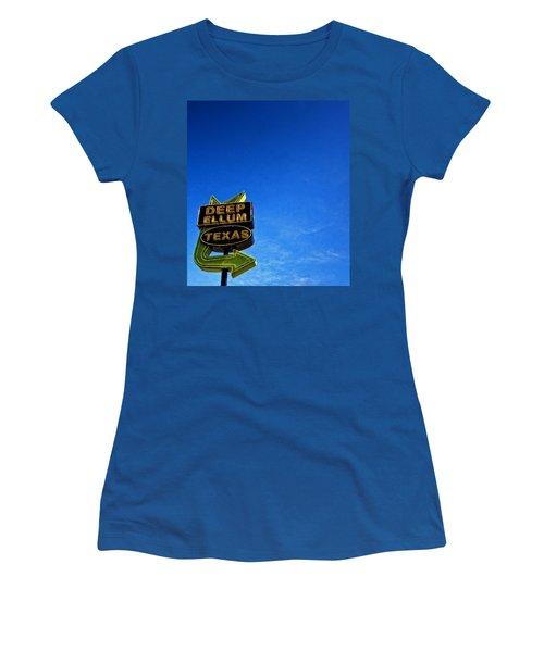 Deep Ellum Women's T-Shirt (Junior Cut) by Mark Alder