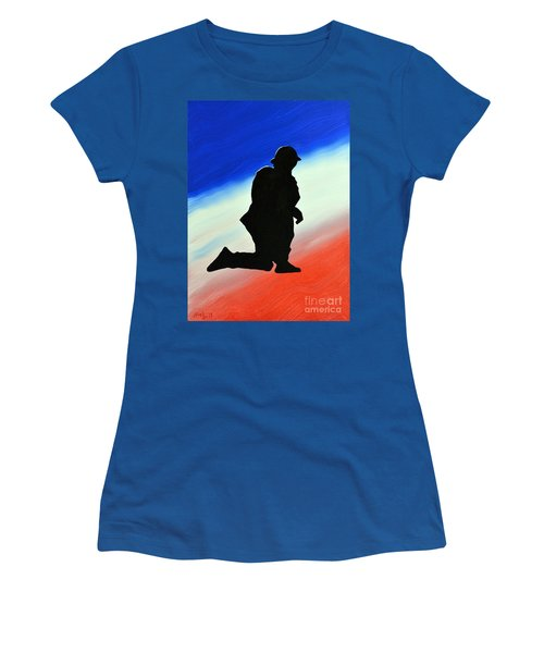 Desert Duty II Women's T-Shirt (Athletic Fit)