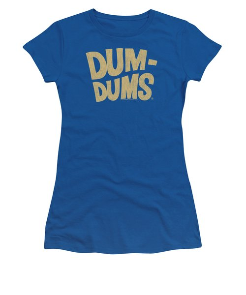 Dum Dums - Distressed Logo Women's T-Shirt