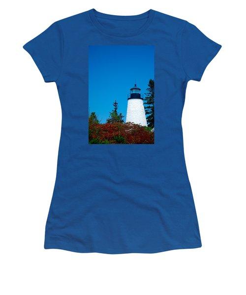 Dyce Head Lighthouse Women's T-Shirt (Junior Cut)