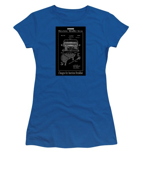 Electric Waffle Iron Women's T-Shirt (Athletic Fit)
