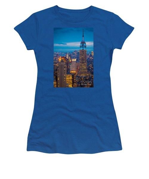 Empire State Blue Night Women's T-Shirt