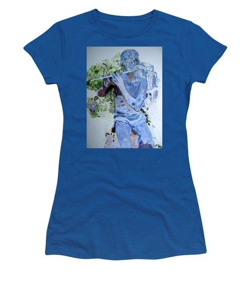 Etude Women's T-Shirt (Junior Cut) by Sandy McIntire