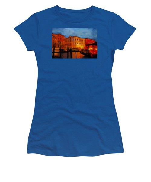 Evening In Venice Women's T-Shirt
