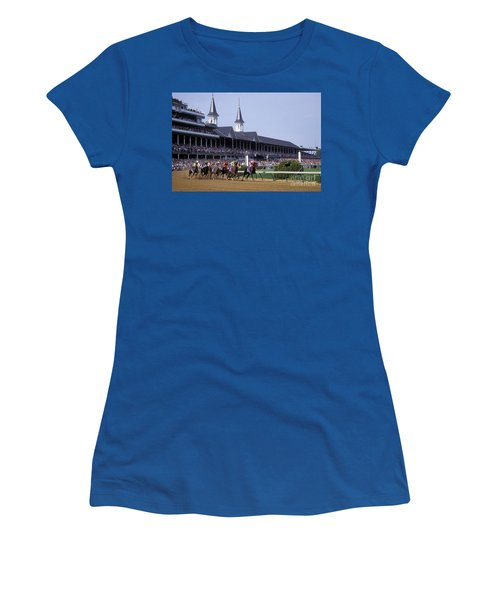 First Saturday In May - Fs000544 Women's T-Shirt (Junior Cut) by Daniel Dempster