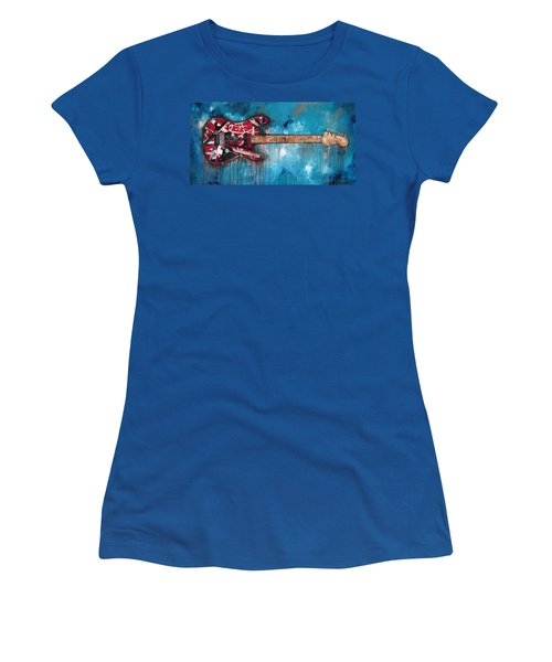 Frankenstrat Women's T-Shirt (Athletic Fit)