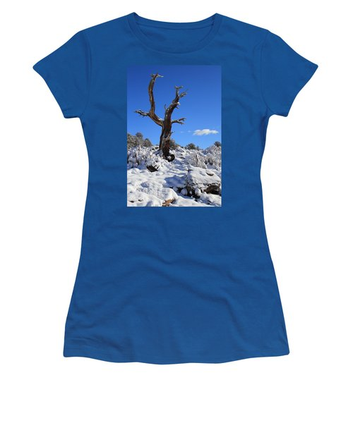Fresh Blanket Of Snow Women's T-Shirt (Athletic Fit)
