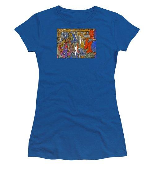 Funky Boutique Women's T-Shirt (Junior Cut) by Ann Horn