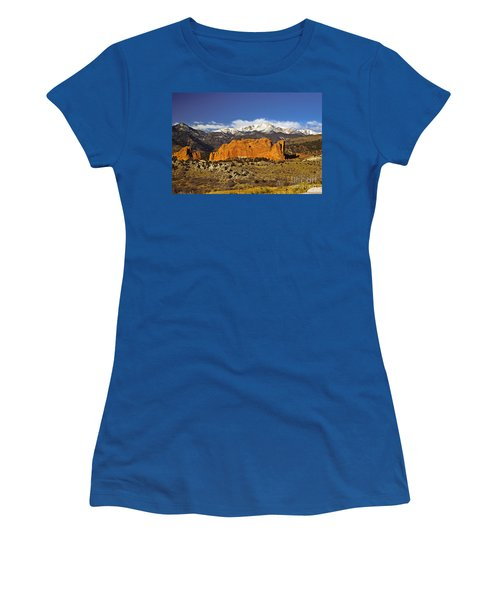 Garden Of The Gods - Colorado Springs Women's T-Shirt
