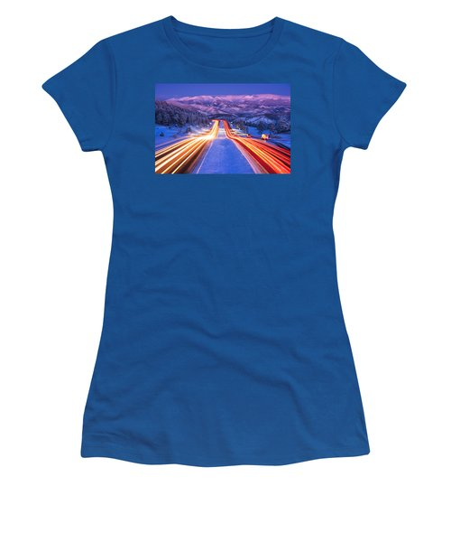 Gateway To The Rockies Women's T-Shirt (Athletic Fit)