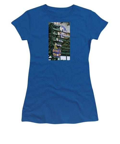 Get Outta Here   Women's T-Shirt (Junior Cut) by Susan  McMenamin