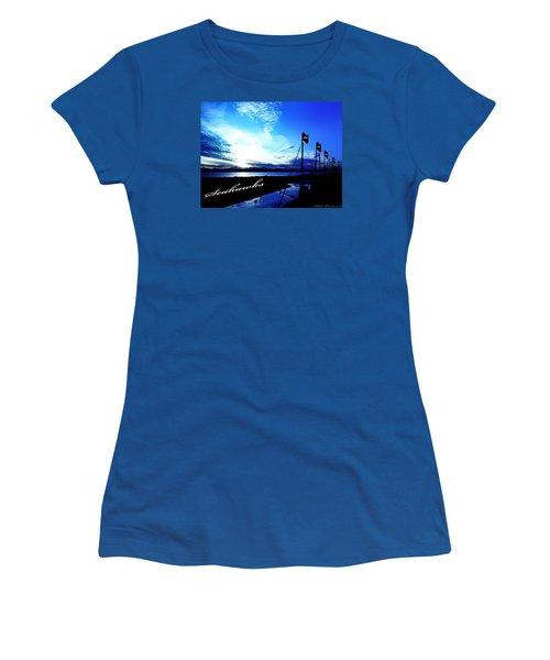 Go Seahawks Women's T-Shirt (Athletic Fit)