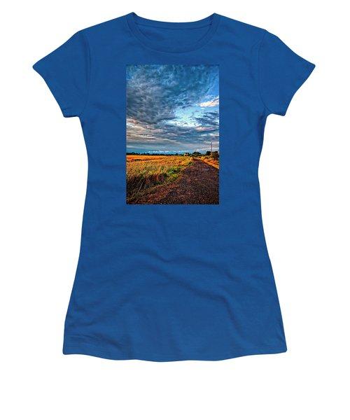 Goin' Home Women's T-Shirt (Junior Cut) by Steve Harrington