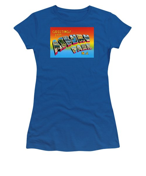 Greetings From Asbury Park Nj Women's T-Shirt