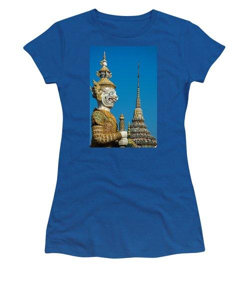 Guardian Statue Women's T-Shirt