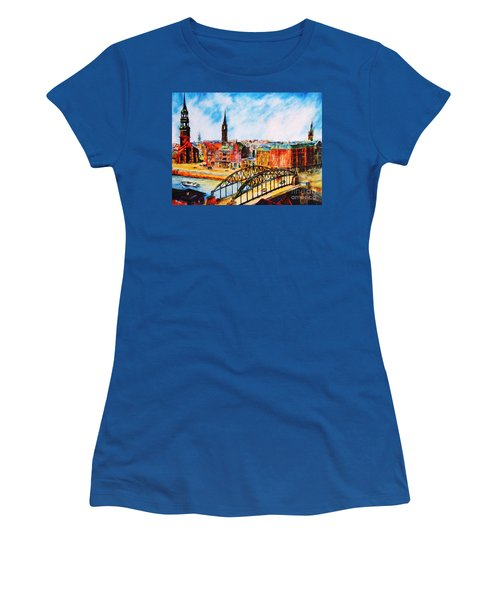 Hamburg - The Beauty At The River Women's T-Shirt