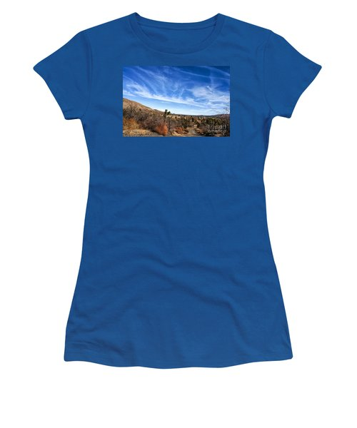 Heaven Women's T-Shirt (Junior Cut) by Angela J Wright