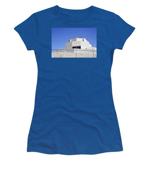 Hecht Synagogue Jerusalem Women's T-Shirt