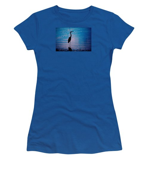 Herons Moment Women's T-Shirt (Athletic Fit)