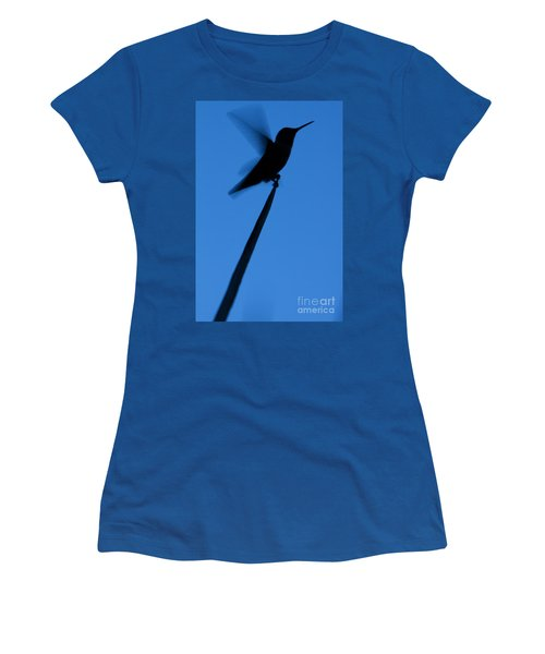 Hummingbird Silhouette Women's T-Shirt