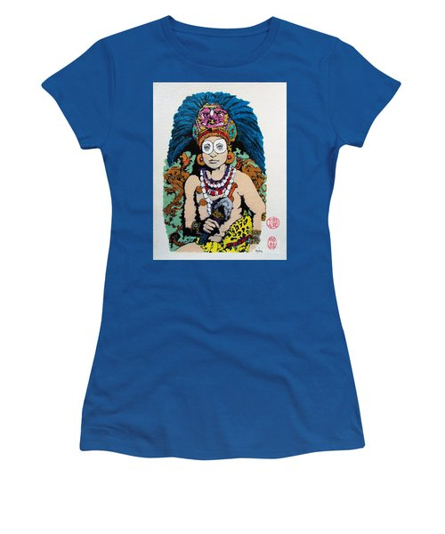Inca  Royalty Women's T-Shirt (Junior Cut) by Roberto Prusso