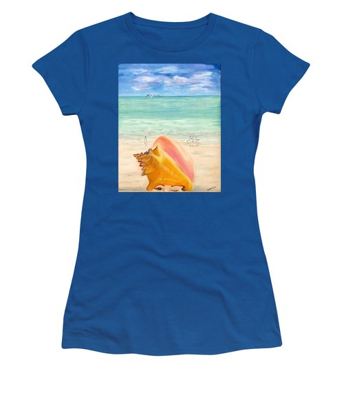 Inside The Head Of A Conch Woman Women's T-Shirt