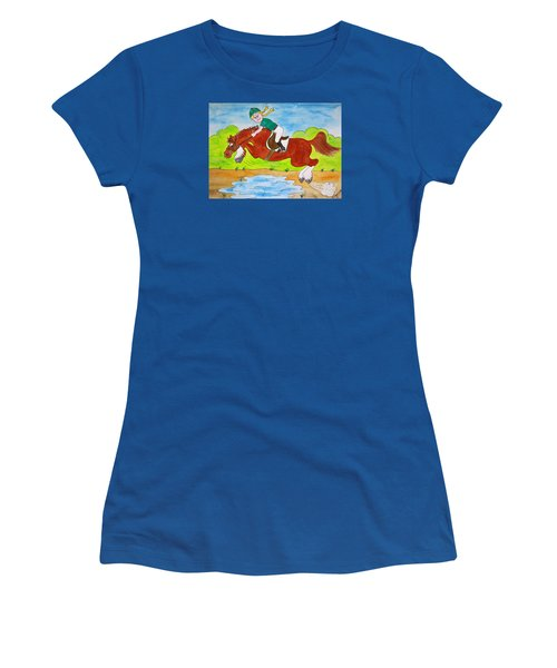 Just Jump Women's T-Shirt (Athletic Fit)
