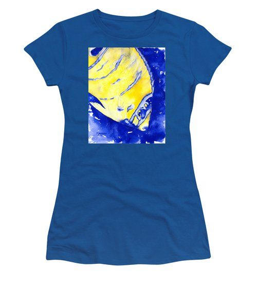 Juvenile Queen Angelfish Women's T-Shirt