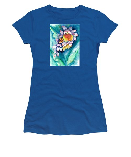 Key West Ginger Women's T-Shirt (Junior Cut) by Ashley Kujan