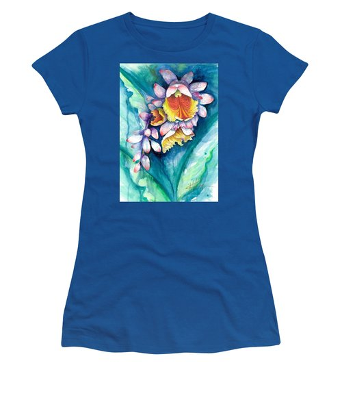 Women's T-Shirt featuring the painting Key West Ginger by Ashley Kujan