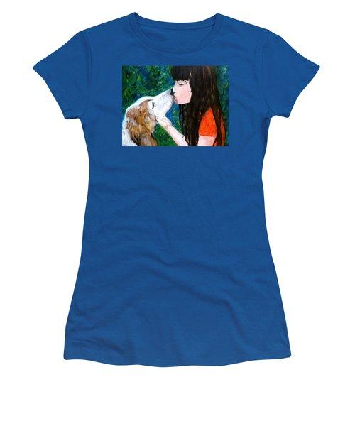 Kisses Women's T-Shirt (Athletic Fit)