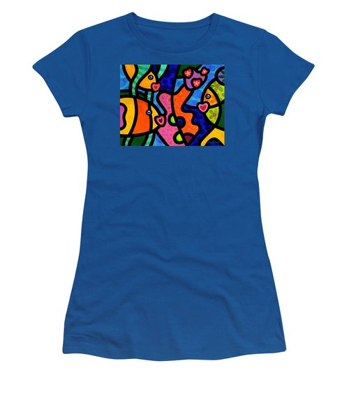 Kissing Fish Reef Women's T-Shirt