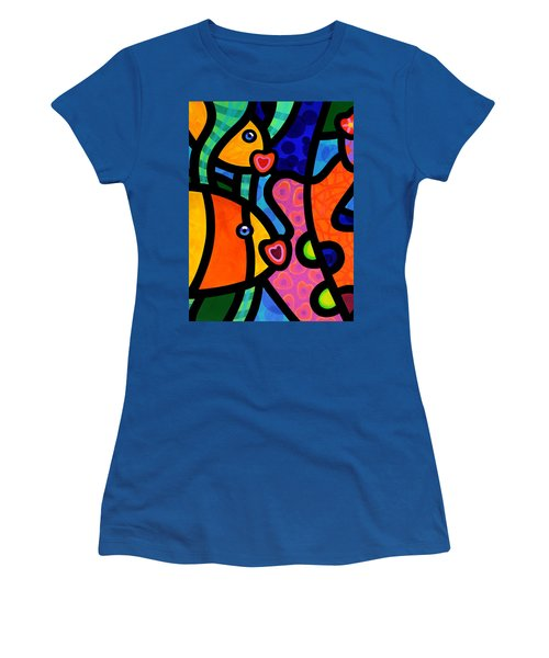 Kissing Fish Reef Women's T-Shirt