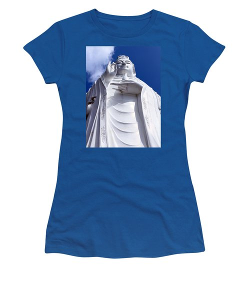 Lady Buddha Vietnam Women's T-Shirt (Athletic Fit)
