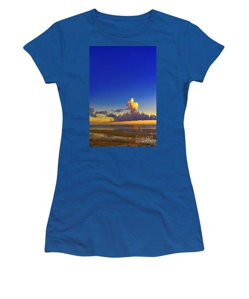 Lady In Black Women's T-Shirt