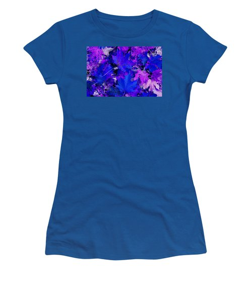 Women's T-Shirt (Junior Cut) featuring the photograph Leaves by Aimee L Maher Photography and Art Visit ALMGallerydotcom