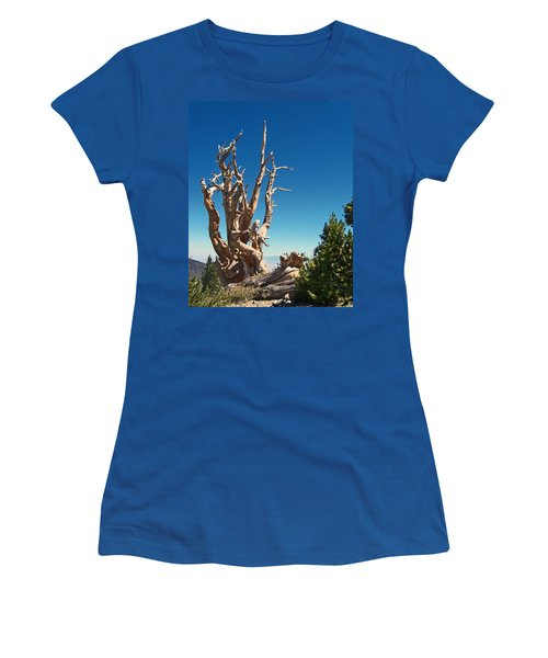 Women's T-Shirt (Junior Cut) featuring the photograph Lone Bristlecone by Alan Socolik