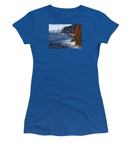 Lonely Schooner Women's T-Shirt