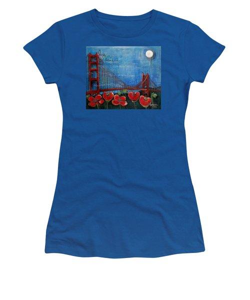 Love For San Francisco Women's T-Shirt