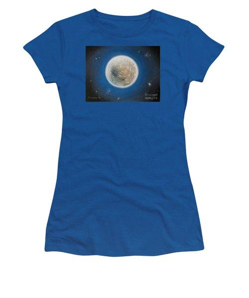 Luna Women's T-Shirt (Athletic Fit)