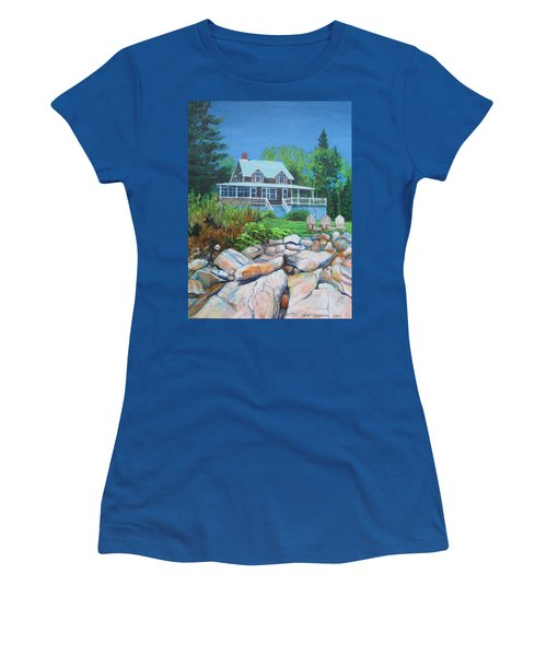 Maine Cottage Women's T-Shirt