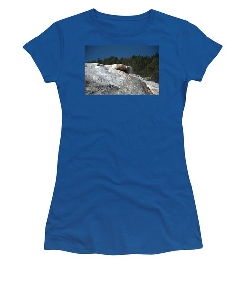 Mammoth Hot Springs 1 Women's T-Shirt