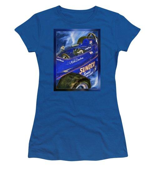 Mark Donohue 1972 Indy 500 Winning Car Women's T-Shirt