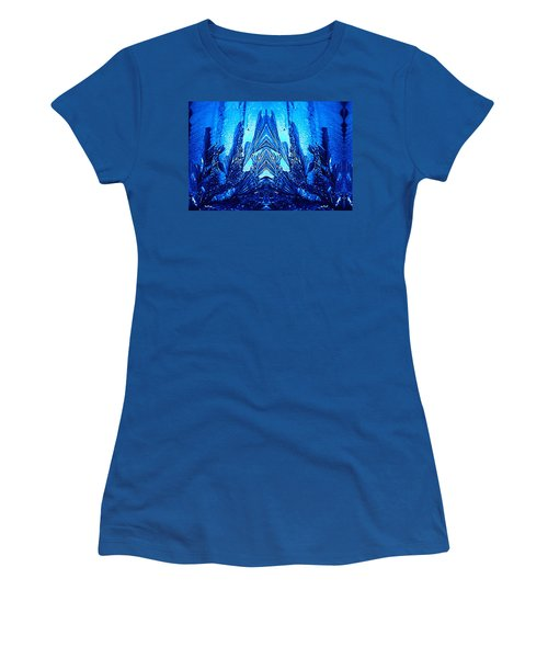 Mask Women's T-Shirt (Junior Cut) by Richard Thomas