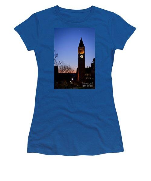 Mcgraw Tower Cornell University Women's T-Shirt