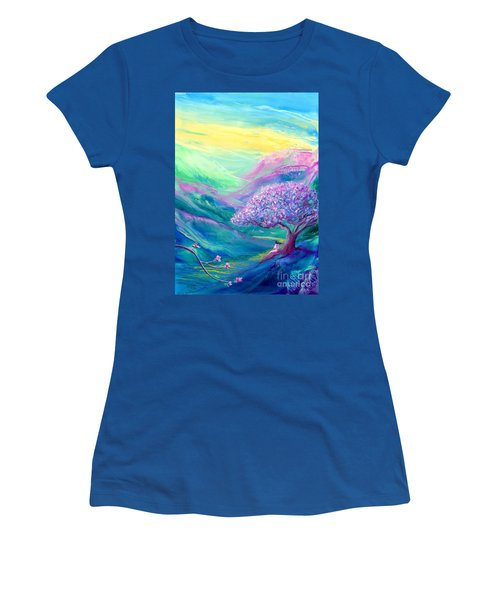 Meditation In Mauve Women's T-Shirt